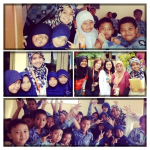 Membangun mimpi anak Indonesia.